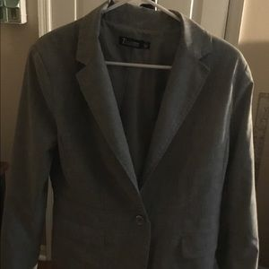 Gray Business Blazer